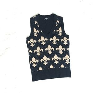 Express Black Sweater Vest small
